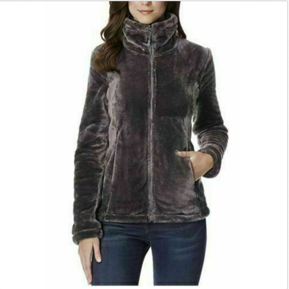 32 Degrees Jackets & Blazers - 32 Degrees Heat Women Plush Faux Fur Full Zip Mock